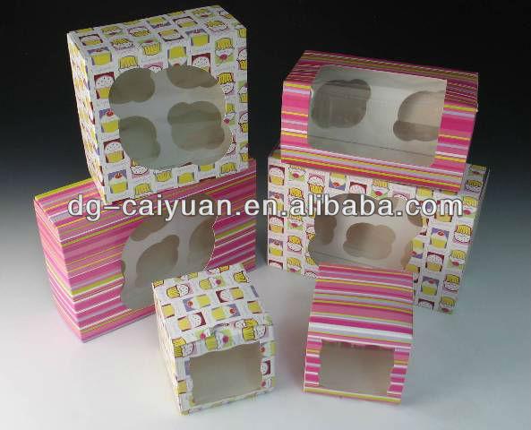 cute cupcake box