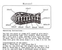 1шт рыбы животных мат фортепианной музыки игровой ковер моды детей детские образовательные ползать играть коврик, одеяло игрушки