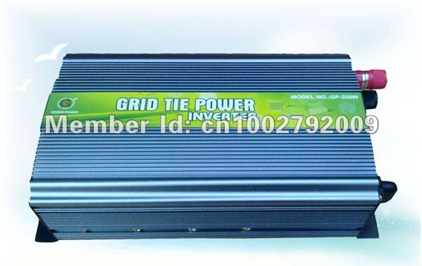 350W Grid Tie Inverter for Solar/Wind Power 14V-28V DC - 220/230V AC(Free Shipping,Reliability Quality,High Efficiency)