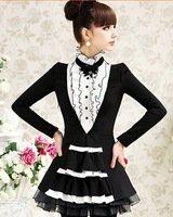 Женские блузки и Рубашки Sweet Long sleeve women blouses 2013, fashion ladies blouse, new stylish shirt women