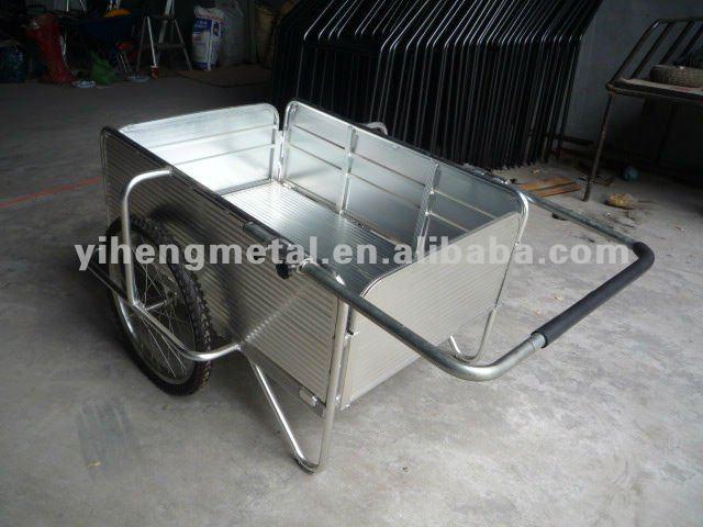 4 Wheel Push Cart Folding Push Cart / 2 Wheels