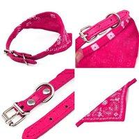 Одежда для собак S5Y Small Adjustable Pet Dog Puppy Cat Neck Scarf Bandana with Collar Neckerchief