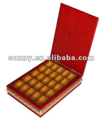 Custom Wooden Chocolate Storage Case