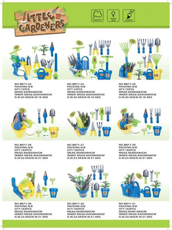 Hotselling Top plastic garden tool toys