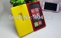 Чехол для для мобильных телефонов 20pcs/lot Solid Color Silicone Case for Nokia Lumia 920 soft case for nokia lumia 920 + 11 colors available
