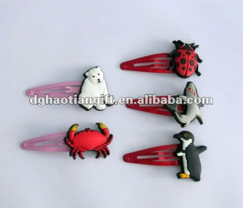 Professional hot sell Lovely silicone hairpin