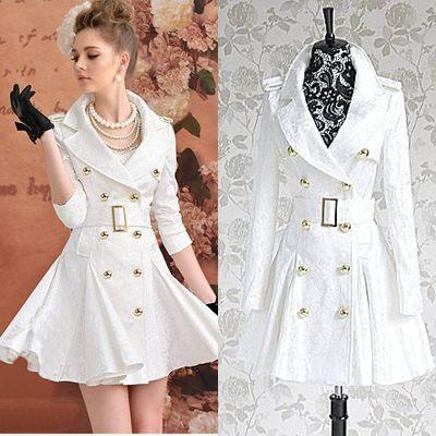 Womens Long White Winter Coats