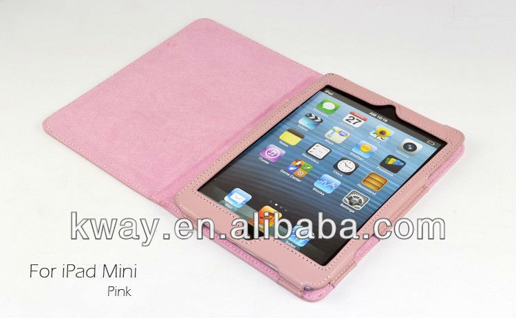 Magnetic PU Leather Folio Stand Case Cover for iPad Mini
