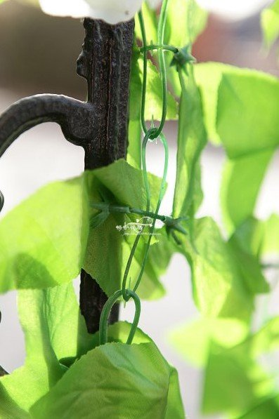 Free Shipping! 10pcs Artificial Rose Flower Garland Vine Ivy for Wedding Party Garden Decoration Decor