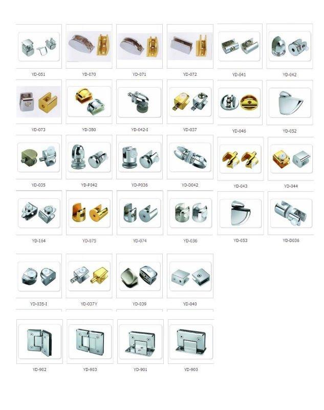 Zinc Alloy Cabinet Glass Clip Frame For Furniture Buy