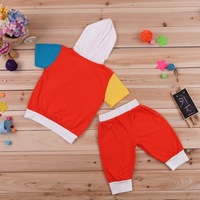 Комплект одежды для девочек Retail Cute girls summer wear, kids suits, children clothing sets, short sleeve tops+Pants, 3 colors