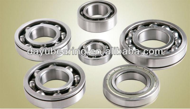 plastic deep groove ball bearing/bearing deep groove