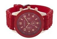 Наручные часы Fashion Luxury Geneva Silicone Quartz Ladies Women's/Men Girl Jelly Wrist Watch
