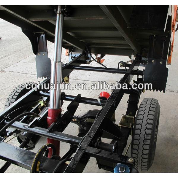 hydraulic self dumping reverse trike motorcycles