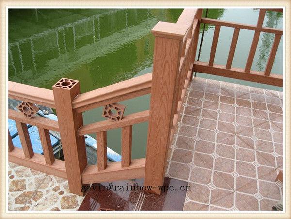 Barandillas de madera para exterior affordable guardamar for Barandillas de madera para jardin