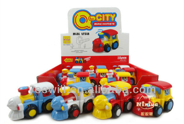 Q-CITY educational train toys for kid