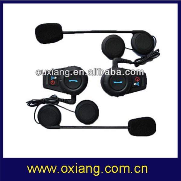 Hot Sale Motorbike Intercom Headset Motorcycle Helmet To Helmet MP3 3.5mm Audio Jack