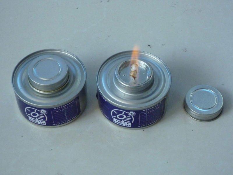 Oz Heat Screw Cap wick chafing Fuel