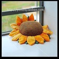 Наволочки new arrive! s Chinese-style desgin handmade colorful sunflowers splicing cushion covers! 3632