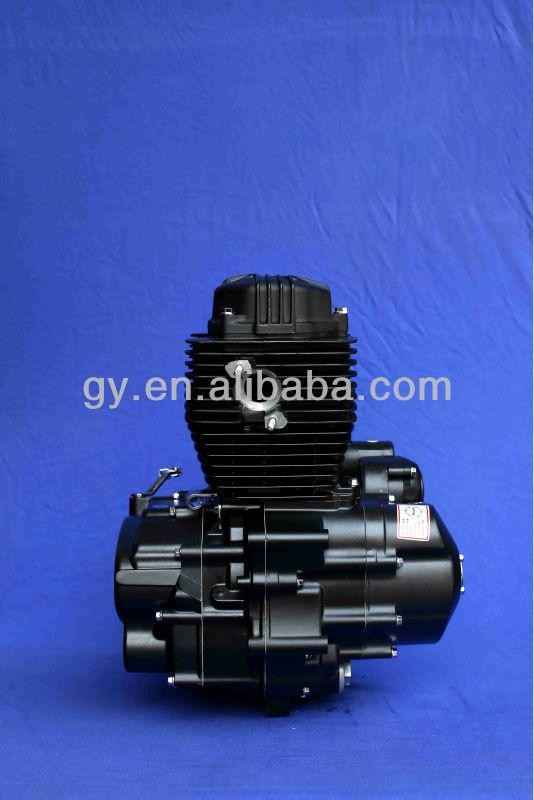 Black Wind-cooled 125CC/150CC CG Motorcycle Engine