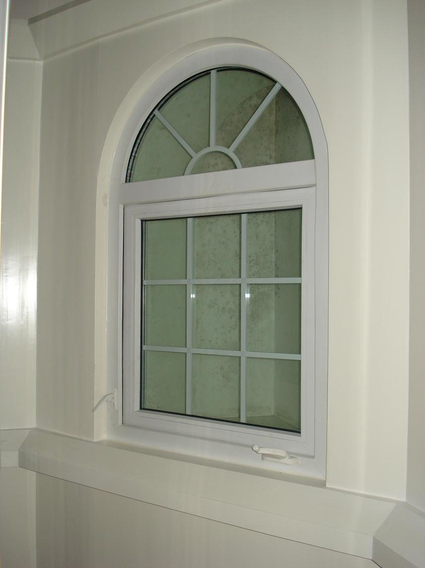 Arch shaped windows french window design foshan wanjia for French window design