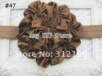 Детский аксессуар для волос Luxurious Top petti skirt flowers Stretchy Shimmery Baby Headbands, Hair Bands, Hair Accessories