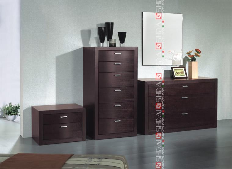 Moderne meubles chambre chambre de luxe set style for Meuble chambre japonais