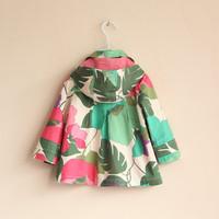 Пальто для девочекs New Fashion Children Clothes Girl Flower Long Sleeve Coats Baby Floral Blazer Girls Small Suit Coats