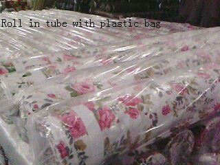 100% polyester pearl print fabric
