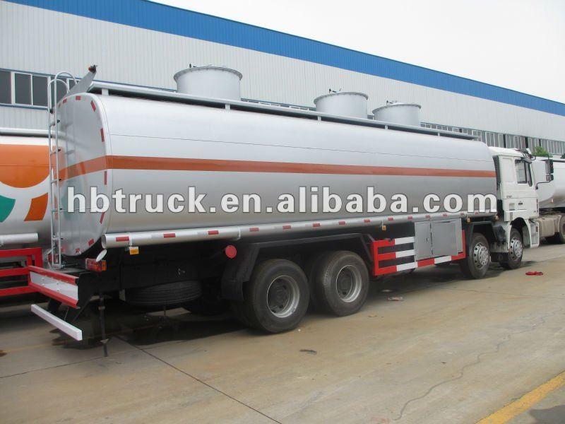 SHCMAN 30000 liters oil tanker truck