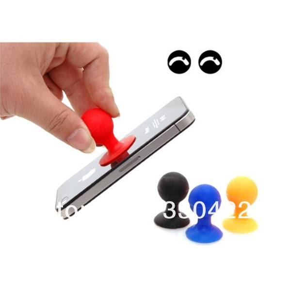 Rubber Octopus Sucker Ball Stand Holder for iPod Touch iPhone 4 4G(4).jpg