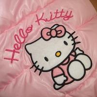 4 цвета babys зимние пальто толстовка hello kitty мультфильм Толстовки babys жилет верхняя одежда для девочек жилет 2964