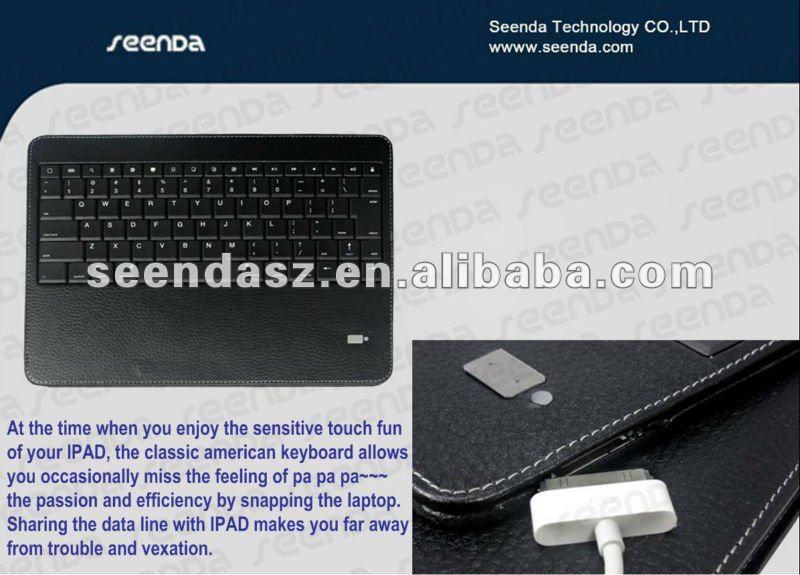 for ipad 4 keyboard case, detachable case keyboard,Bluetooth Keyboard Case