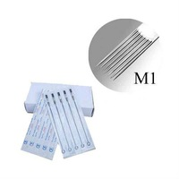 Игла для татуировок 50Pcs Pack 7 Single Stack Magnum Tattoo Needles