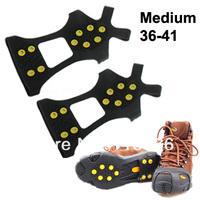 Обувь для скалолазания Black 10 Tooth Anti-skid Shoe Covers