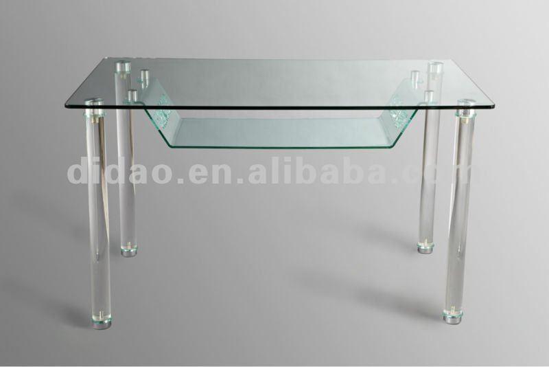 Clear plexiglass dining table buy plexiglass dining - Table gigogne plexi ...