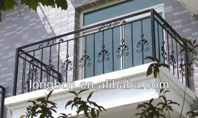 Top Selling Artistic Rod Iron Balcony Railings Designs