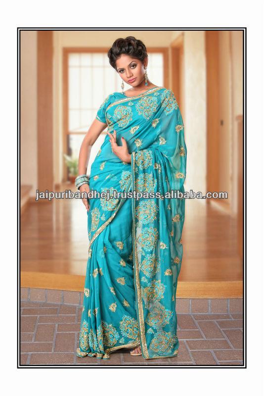 indiase kleding sari