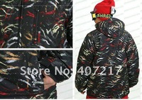 Free shipping 2012 mens burton snowboarding jacket lightweight skiing clothing men ski suit skiwear waterproof anorak black