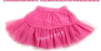 Юбка для девочек Girls skirt more color six layer childrens ball gown skirt fit 4-10yrs kids size 120/130/140/150 156