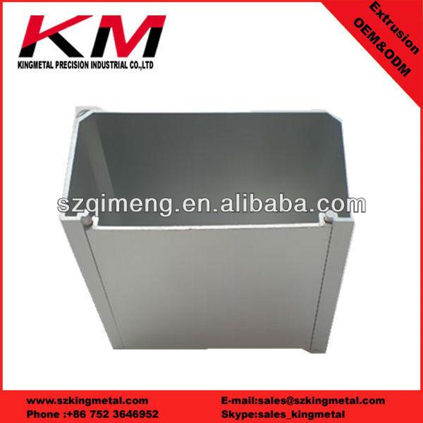 OEM Extrusion custom aluminum boxes or aluminum enclosure