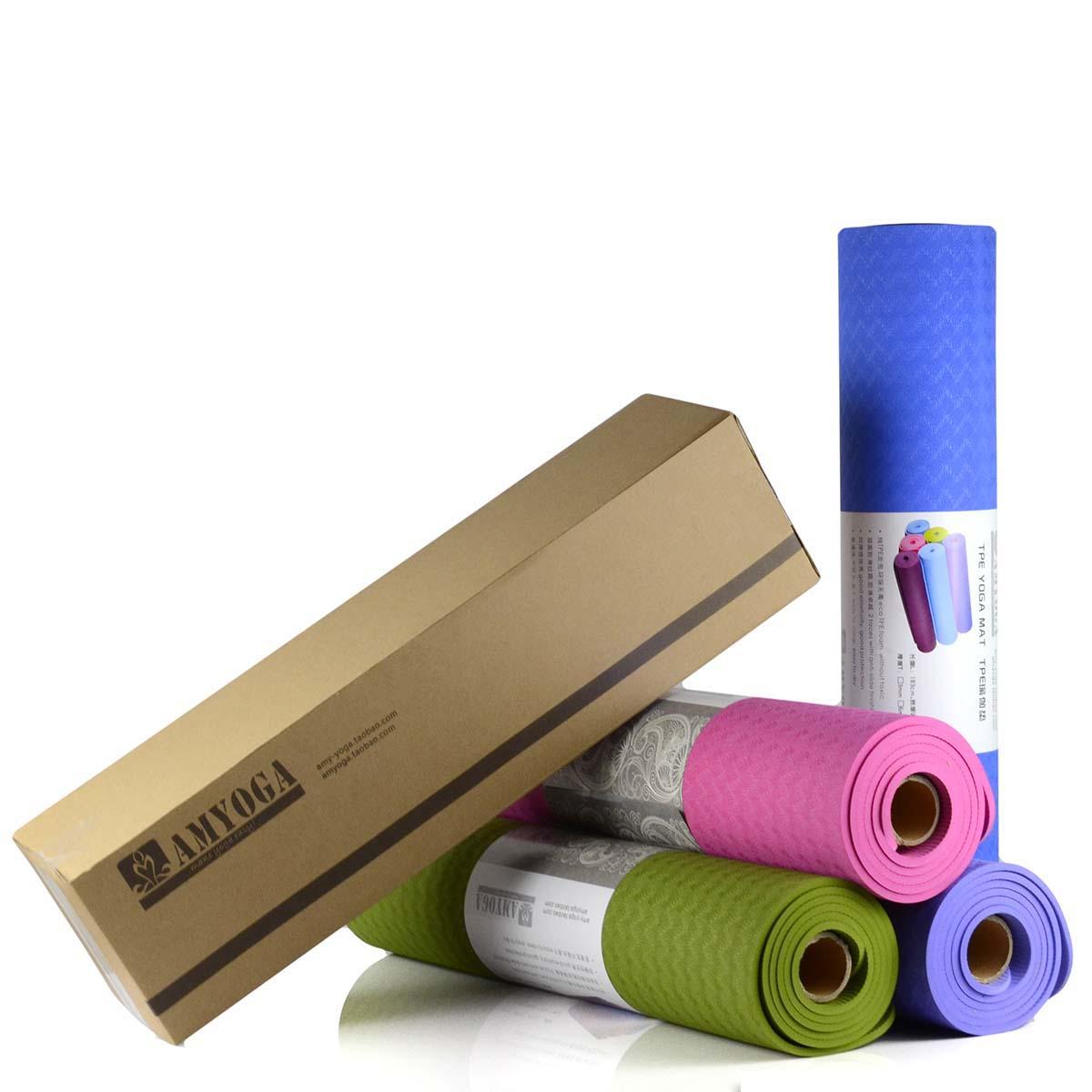 Wholesale Wholesale Eco Friendly Anti Sliding Tpe Yoga Mat