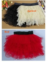 Женская юбка 7 Color Sweet Princess Lady 5 Layer Tutu Tulle Short Bouffant Skirt Party FZ591