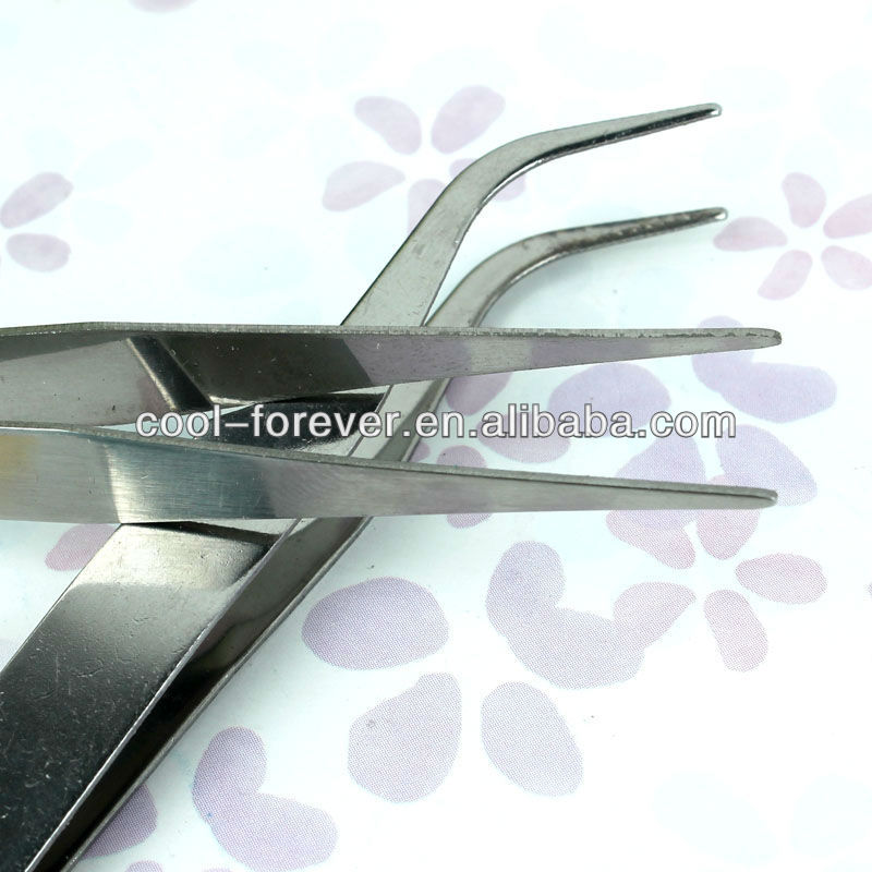 Stainless Steel professional nail tweezer