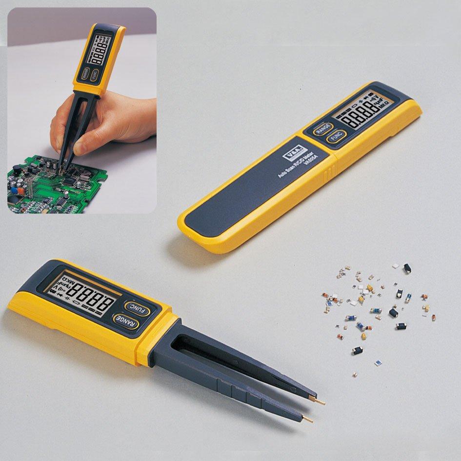 Pen type Tweezers Digital Capacitance Multimeter Meter R / C SMD