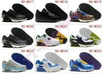 Женские кроссовки Running Shoes, Top quality 90 sneakers, air shoes 90, men/women 90 sports shoes, size 36-46, can mix order
