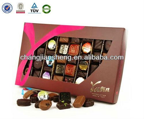 2013 hotsale nuovo design cioccolato imballaggio