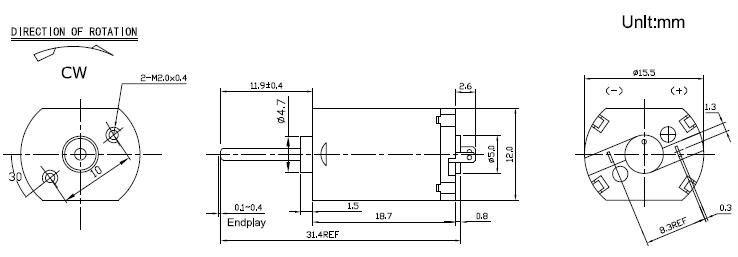 3.5V DC 10000 RPM MOTOR
