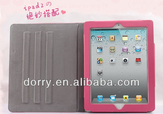 Cheap and beautiful ipad 3 ipad 2 case for kids
