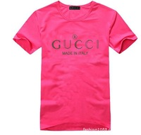 Мужская футболка YS fashion tops short hot GUCE letter clothing men's t shirt YS1209638464